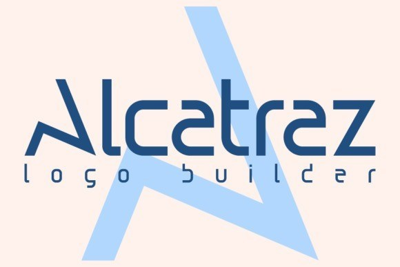 Alcatraz设计专用装饰性英文字体