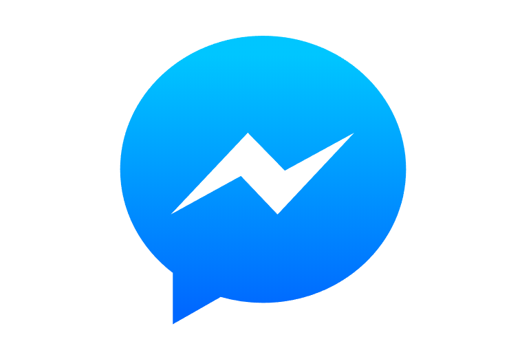 脸书(Facebook Messenger)矢量图标LOGO素材设计图