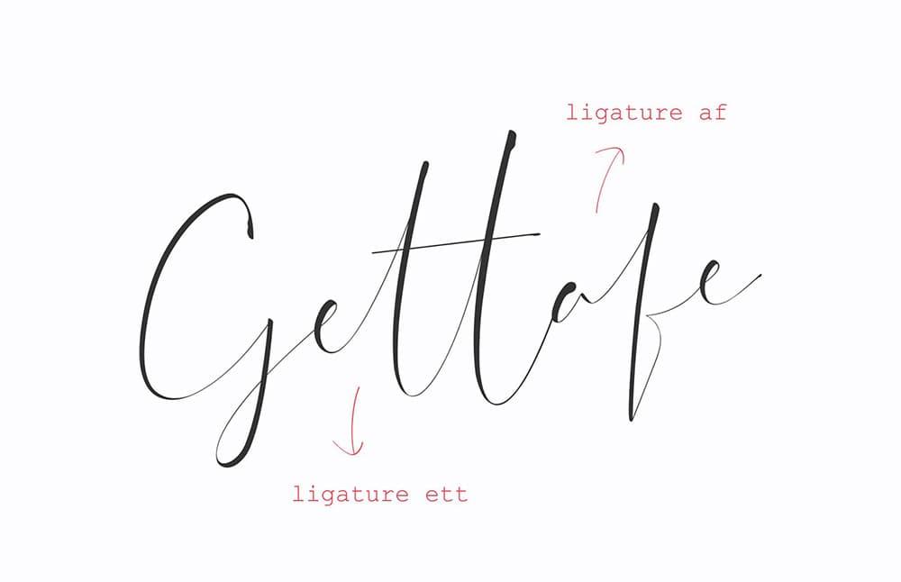 Dattebayo漂亮的英文钢笔手写签名字体
