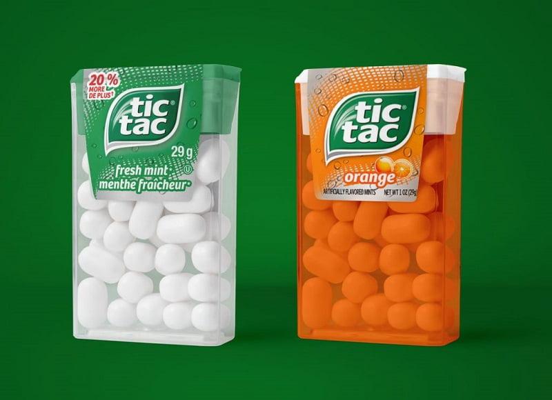 透明塑料糖果盒样机PSD包装设计模板素材下载