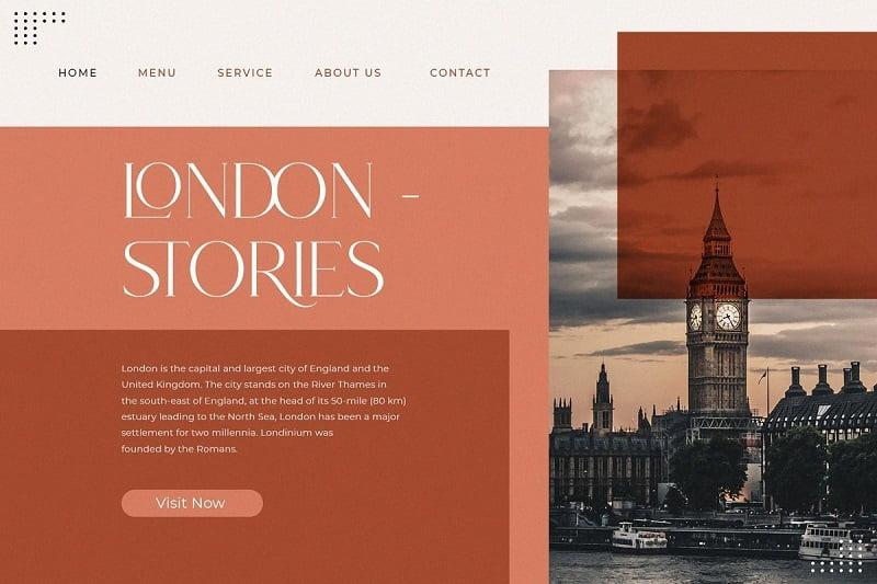 Roseritta现代优雅衬线体英文字体下载