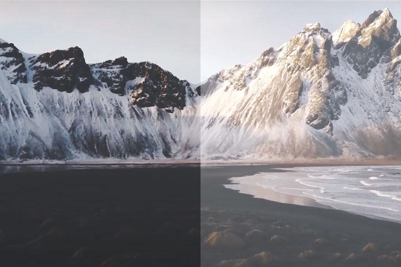 30个电影级LR调色预设LUTs大片感旅行视频滤镜预设效果下载