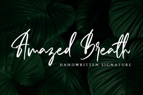 Amazed Breath-ins文艺签名连写英文手写字体下载